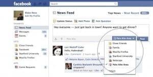 Facebook Newsfeed September 2011