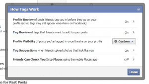 Facebook Privacy Settings The Marketing Shop September 2011