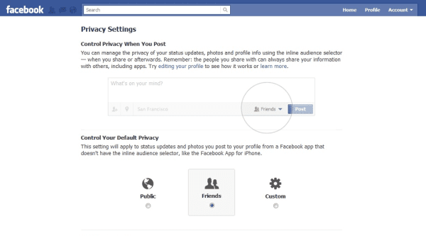 Facebook Privacy September 2011 The Marketing Shop