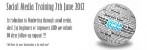Social Media With The Marketing Shop 7th June 2012
