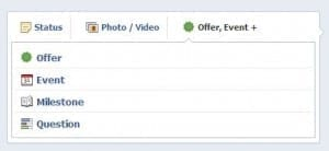 Facebook Events - Step 2