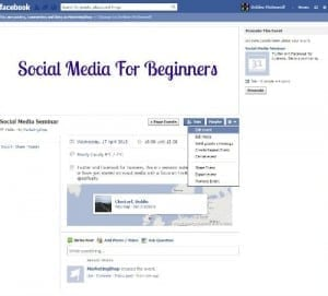 Facebook Events - Step 4