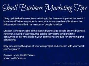 Grainne Lynch, HealthEvents.ie