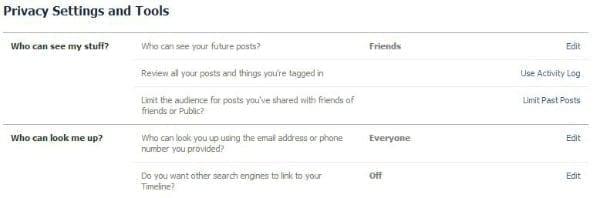 Facebook Privacy 3