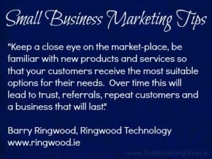 Small Business Marketing Tips - Ringwood Technology