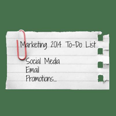 2014 The Marketing Shop Marketing To-Do List