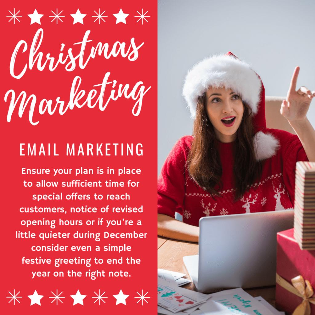 Email Marketing - Christmas Marketing Tips